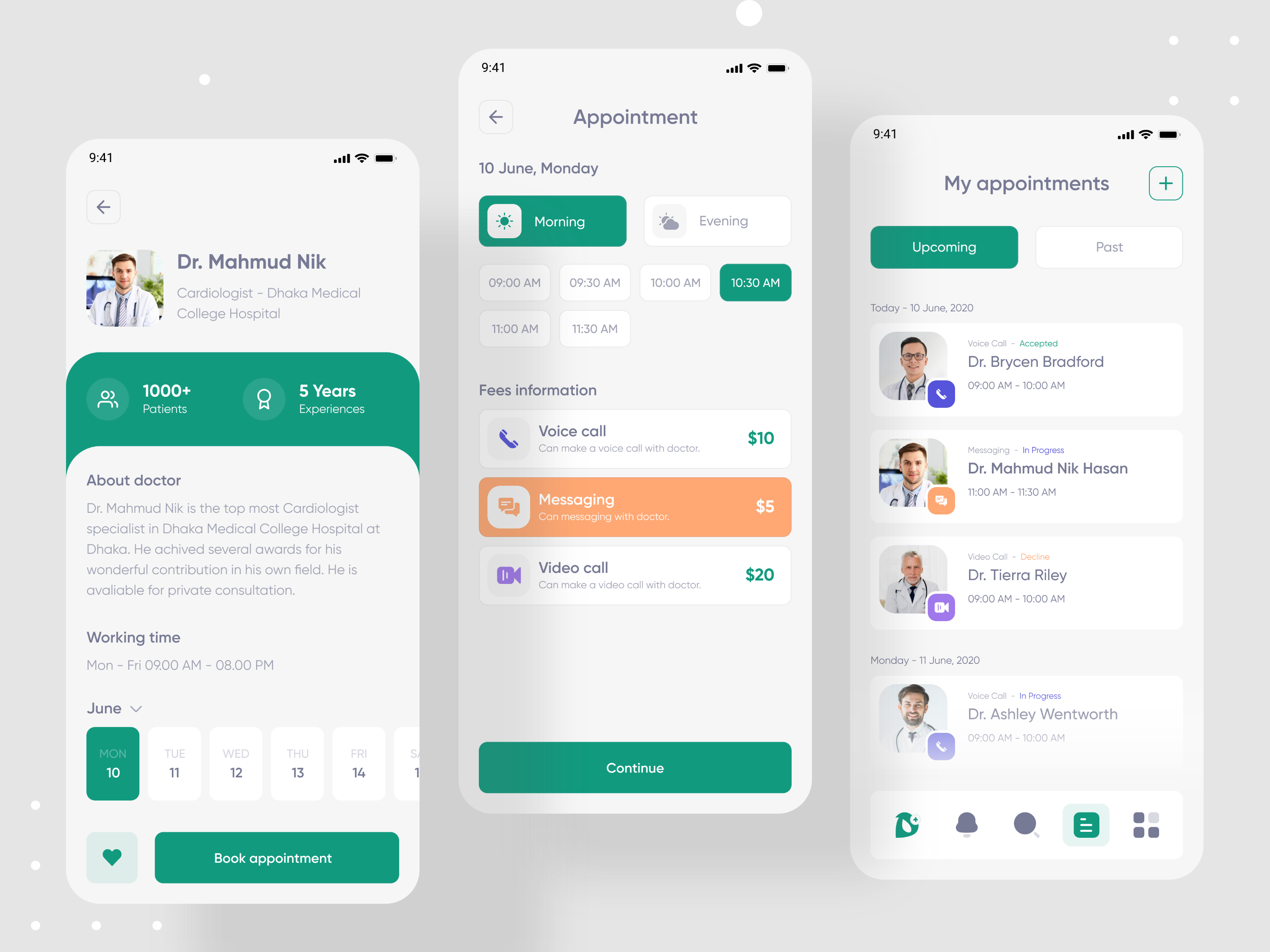 DoctorPoint – Doctor Consultant App