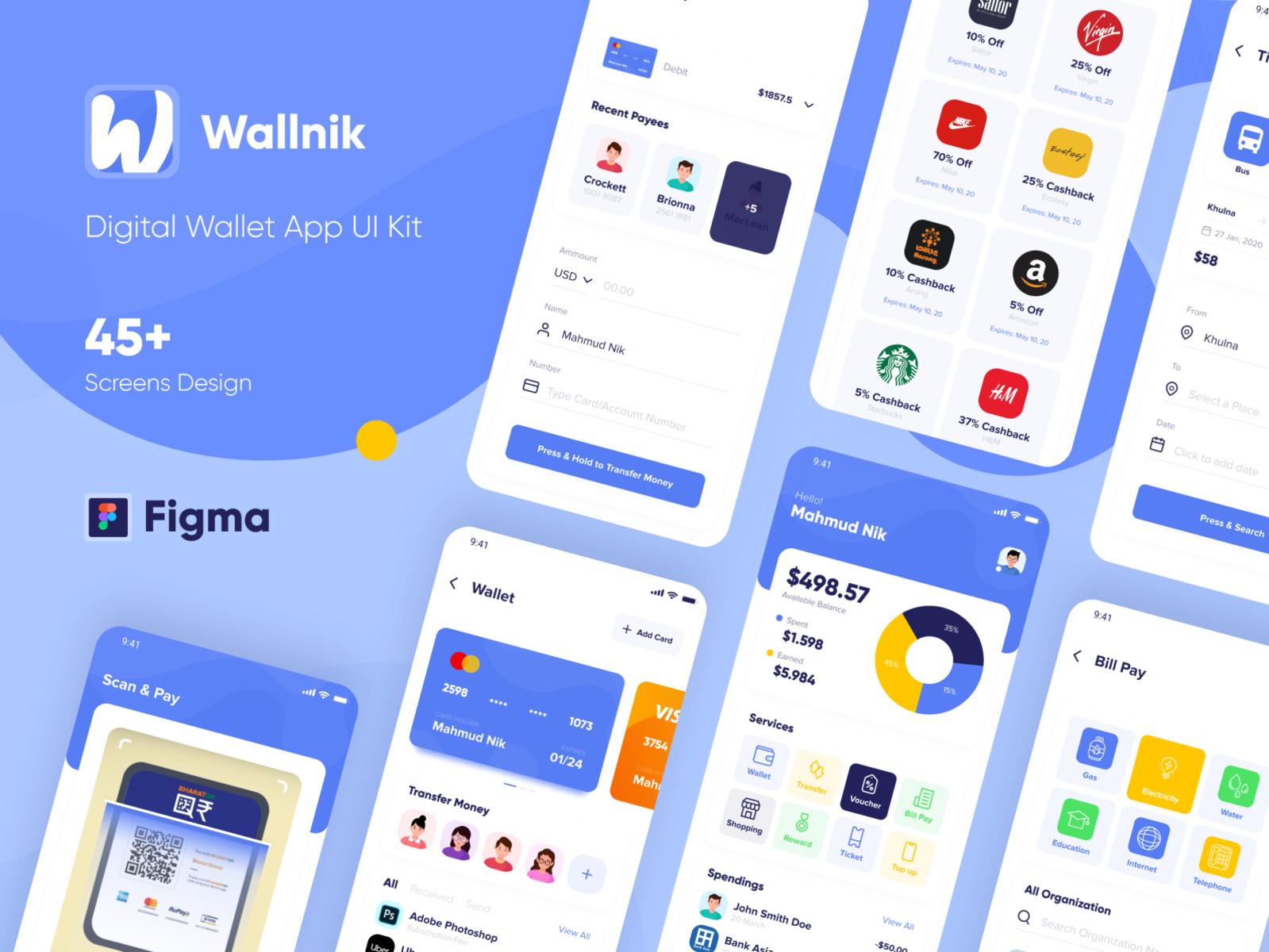 Wallnik – Wallet App
