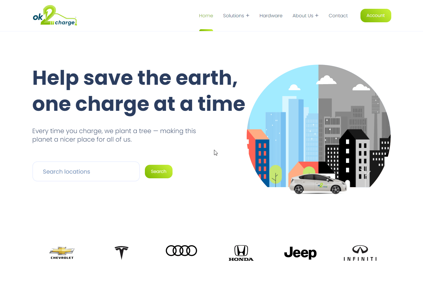 ok2charge – Network of smart charging stations